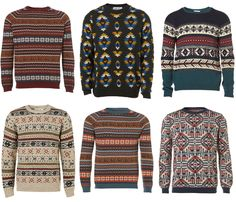 I don't know why ugly sweaters are coming back... but i think i like it.