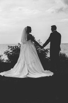 Black and white wedding silhouette photo. Silhouette Photo, Wedding Silhouette, Wedding Blog, Wedding Photos, Toronto Wedding Photographer, More Photos, Black And White, Wedding Dresses, Photography