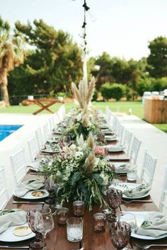 Portfolio of the destination weddings, baptisms and parties, we have previously organised on beautiful locations all over Greece Tipi Wedding, Wedding Dinner, Wedding Table, Wedding Reception, Wedding Centerpieces, Wedding Decorations, Table Decorations, Destination Wedding Planner, Wedding Planning