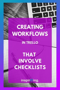 Workflows that involve checklists are a favorite for many. Why? Because with these workflows you can do things you cannot even do manually. -- Repin this & check out this article where I give an overview of what you can actually by creatively automating checklists in Trello! #Trello #Checklists #Workflows