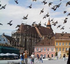 Black Church Brasov The most important landmark of Brasov, the Black Church, being the largest Gothic church between Vienna and Istanbul, towers over Piata Sfatului and the old town. Hotels In Romania, Visit Romania, Brasov Romania, Black Church, Famous Castles, My Kind Of Town, Cities In Europe, Macedonia, Culture Travel