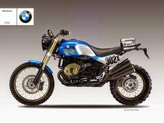 """Design Corner - BMW R 1200 """"Desert Sled"""" & """"Desert Sled R"""" by Oberdan Bezzi"""