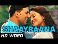 #shaayraana in the voice of #arijitsingh starring #akshaykumar and #sonakshisinha from the upcoming #holidayhindimovie.