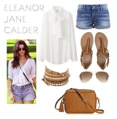 """""""Eleanor Jane Calder inspired outfit"""" by inthesummer on Polyvore"""