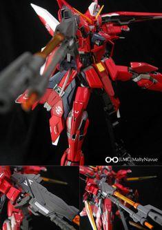 MG 1/100 GAT-X303 Aegis Gundam: Modeled by [LCM] MaftyNauve.