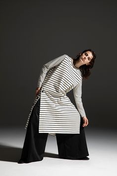 2020-21 A/W 014, Border VORTEX Jersey Button Up Tunic   DRC-T04-013F, Raised Polyester Satin Flare Pants   DRC-P02-503 Polyester Satin, Flare Pants, Raincoat, 21st, Bell Sleeve Top, Jackets, Collection, Tunic, Button
