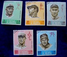 Baseball fans and philatelists check it out!