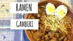 La mia versione del Ramen con Gamberi | In cucina con Arianna #3