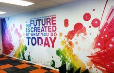 Nice wall mural! www.SpeedproSilverSpring.com