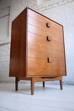 Teak Chest of Drawers Designed by Ib Kofod Larsen in 1963 for the G-Plan 1