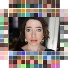 {Wardrobe Planning} My Custom Color Palette — Free Notion Winter Colors, Sewing Clothes, Horoscopes, Color Palettes, Fit And Flare, Color Combinations, Cry, What To Wear, Eyes