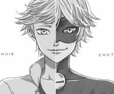 CHAT NOIR AND ADRIEN