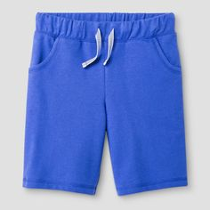 Girls' Bermuda Shorts Cat & Jack - Blue Xxl, Blue Iris