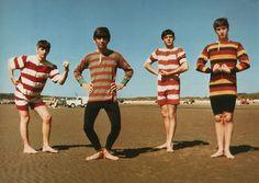 Beatles haciendo el moña!!