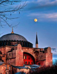 Hagia Sofia in Istanbul | Tumblr