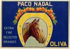 carteles naranjas antiguos - Buscar con Google