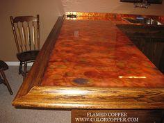 Copper top bar   Found on flickr.com