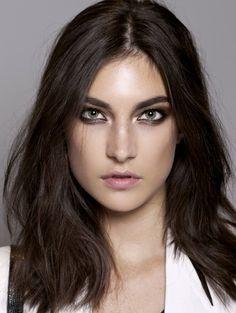 #beauty #smokey #eyeliner #model #backstage