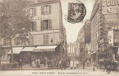 La rue de Commines vers 1905 - Paris 3ème
