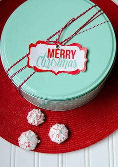 Christmas Neighbor Gifts by Love The Day & World Market:: FREE PRINTABLE