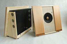 Musical Affairs Mini Baffle open baffle speaker. Beautiful.