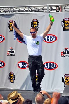 Jack Beckman Team Compete in the 5th race of the 2016 Season in Carolina in the 4 Wide Nationals in the Infinite Hero T/F F/C