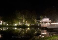 Learn how to take awesome pictures of lit scenery at night