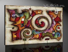 cuadros para salon rustico - Buscar con Google