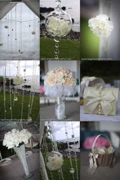 Bubble flower  Photo Booth: Epic Entertainment Flower: by Angelena & Bridesmaids Stylist: Sisters & Company Musician: Alika Nakaooka & Ed...