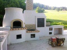 kerti sütők - Google-keresés Clay Oven, Bbq Area, Gazebo, Backyard, Mansions, House Styles, Kitchen, Pizza Ovens, Home Decor