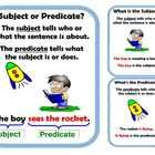 Subject and Predicate Center Activity for small groups or independent literacy station work during guided reading. Buy the bundle and save. 3 Subje...