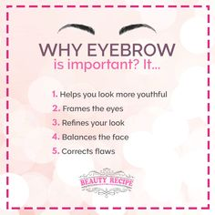 Who would have thought that eyebrow could be this important to our lives these days? Well, here's why...  Contact us at:  104 Jurong East St.13 #01-102 ☎ 65673568  Marine Parade Central ☎ 98593982  Orchard Gateway #B2-01 ☎ 67023062  Follow us at IG: https://www.instagram.com/thebeautyrecipe