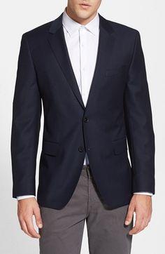 BOSS 'James' Trim Fit Wool Blazer