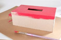 Kleenex Box Cover Tutorial