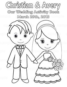 Free Printable Wedding Coloring Pages Polancho