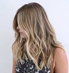 Partial Blonde Balayage