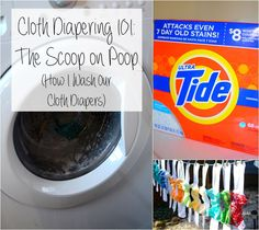 For the Mamas | Cloth Diapering 101: The Scoop on Poop (How to Wash Cloth Diapers)