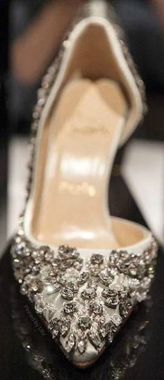 Louboutin shoes - love these shoes, if they don't come in white they will be my reception shoes!
