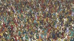 """Okay, I'll admit it. I haven't found Waldo (née """"Wally"""") in this image. So, he might not even be in the above GIF. Wheres Wally, Good Movies, Awesome Movies, City Photo, The Originals, Happy Things, Funny Things, Random, Birthday"""