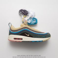 competitive price 9f2a9 14640 Premium Goods Sean Wotherspoon X Air Max 1 97 Vf Sw Hybrid Vintage Air  Jogging Shoes Vintage Corduroy Rainbow