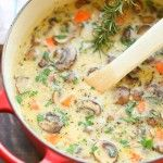 Permalink to: Creamy Chicken and Mushroom Soup