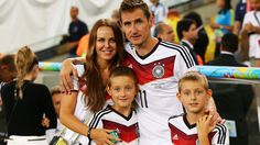Familientreffen in Rio: Klose und Co.  © Bongarts/GettyImages