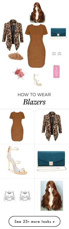 """""""K M R W"""" by queen-kaitlyn on Polyvore featuring Giuseppe Zanotti, LE3NO, M&Co and Casetify"""