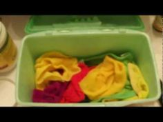 Homemade Wipe Solution (cloth diaper safe) - YouTube Use natural soap I have
