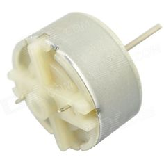 1S500 5500RPM DC Motor - Silver (DC 12V / 2 PCS). Model 1S500 Quantity 2 Color Silver Material Iron Features Rated voltage: DC 12V; Rated speed: 5500 revolutions per minute; Output axis type: Cylinder; Axis diameter: 2mm; Axis length: 21.5mm; Motor diameter: 32mm; locked-rotor current: 0.71A; Idling Current: 0.025A English Manual/Spec No Packing List 2 x Motors. Tags: #Electrical #Tools #Arduino #SCM #Supplies #Motors
