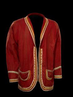 Man's Coat Mississippi Choctaw, 1900 The National Museum of the American Indian