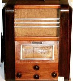 Poste de radio - TSF ARENA  type 260 - 1935