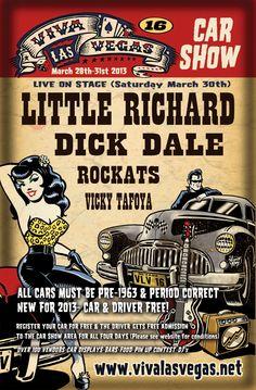 Viva Las Vegas Car Show flyer