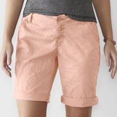 Women's+SONOMA+Goods+for+Life+Chino+Bermuda+Shorts