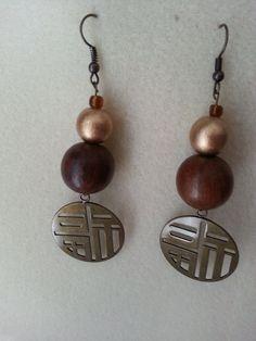 Fun Geometric Earrings by sweetmelissasshop on Etsy, $7.00